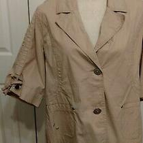 Women's Venezia Lane Bryant Spring Layering Jacket Blush Pink Size 14/16 Euc Photo