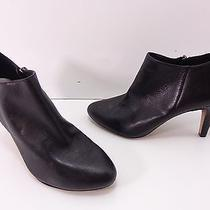 Women's Vince Camuto 'Vive' High Heel Leather Ankle Boots - Black - Size 7.5 M  Photo