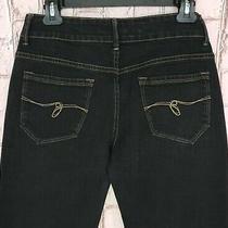Women's Vintage Black Guess Stretch Jeans - Size 29 Photo