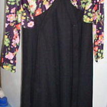 Women's Vintage Dress No Brand or Size Tags Bust-21