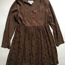Women's Vintage Rampage Long Sleeve Baby Doll Dress- Size 9 Photo