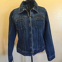 Women's Vtg 90's Gap Blue Denim Retro Indie Jacket Photo