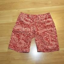Women's Water Girl by Patagonia Board Shorts Hawaiian Print Size 8 Photo