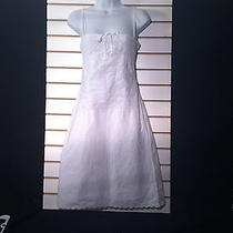 Women's White Dress by H & M (00318) Photo
