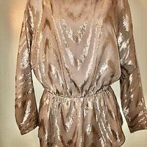 Womens Xs Armani Exchange Gold Top Photo