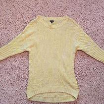 Women's Yellow Express Sweater Size Small Photo