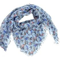 Women Scarf Summer Spring Birds Printed Design Ladies Lovely Scarves Photo