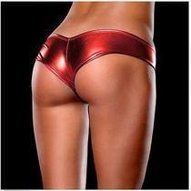 Women Sexy Lingerie Shine Metallic Girls Sexy Panties Underwear M2 Photo