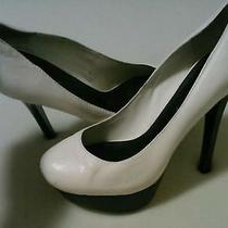 Women Shoes by Bebe Size 8 Off White  Photo