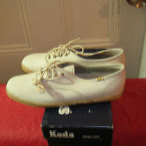 Women Sneakers Keds White 9.5m New in Box Photo