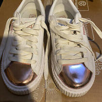 Womenspuma Sneaker White Rose Gold Size 6 Rare Photo
