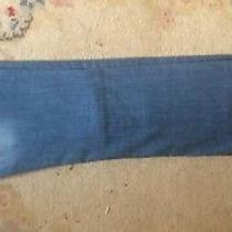 Women Straight Fit Christy Blue Mango  Mng Jeans Size 10/euro 38 Photo