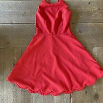 Women/teens New Lulus Red Dress Size Xs Photo