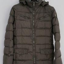 Women Timberland Jacket Brown Breathable Warm Casual S Zna23 Photo
