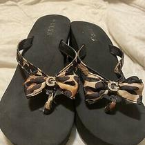 Women Wedge Shoes Guess Size 6.5 Photo