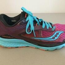 Womenls Saucony Kinvara 7 Gym Running Shoes Purple Blue Neutral 8.5 9 Photo