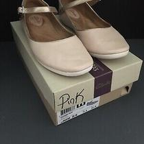Womens' 10m Blush Pink Feature Film Clark's Leather Ballet/ Mary Jane Flats Photo