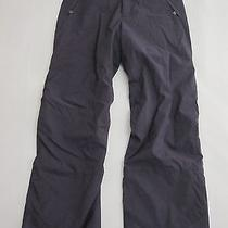 Womens 12 Patagonia Gray Fleece Lined Snowboarding Ski Pants Photo