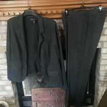 Womens 2-Piece Lane Bryant Blazer Size (18) & Pants Size (14/16) Nice Dress Suit Photo