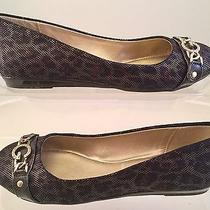 Womens 6 G by Guess Fotini Bronze  Ballet Flats Shoes Photo