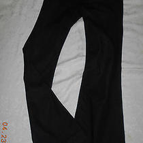 Womens 7 for All Mankind Highwaist Black Ginger Jeans 26 Euc Photo