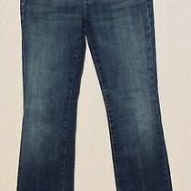 Womens 7 for All Mankind Jeans Size 30 Distressed Blue Photo