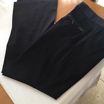 Womens A/x Armani Exchange Trousers Size Us 6 Leg 31 1/2