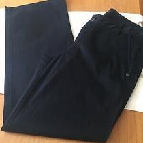 Womens A/x Armani Exchange Trousers Size Us 8 Leg 31 1/2
