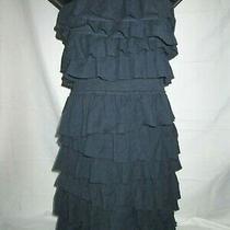 Womens Abercrombie Blue Sleeveless Short Dress Size Xs Excellent Photo