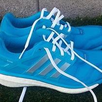Womens Adidas Energy Boost 2 Light Blue Running Shoes Size 9 Photo