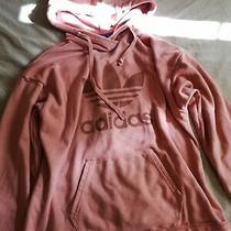 Womens Adidas Hoodie.... Dusky Rose Colour.. Size 10... Pink Photo
