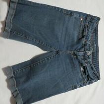 Womens Aeropostale Blue Bermuda Shorts Size 0  2 Photo