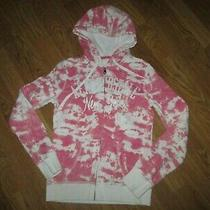 Womens Aeropostale Full Zip Hooded Hoodie Sweatshirt Sz M Md Med Photo