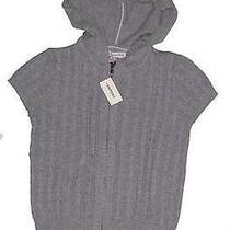Womens Aeropostale Gray Short Sleeve Zip Hoodie Size S Nwt 8808 Photo