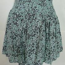 Womens Aeropostale Rayon Smocked Floral Flippy Skirt Size Xs Nwt 4434 Photo