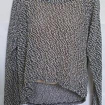 Womens Aeropostale Sheer Textured Hi-Lo Sweater Size Xl Nwt 0445 Photo