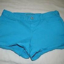 Womens Aeropostale Teal Blue Shorts Size 1/2 Photo