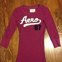 Womens Aeropostale Thermal Shirt Medium Photo