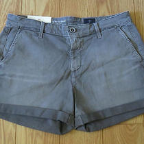 Womens Ag Adriano Goldschmied Tristan Tailored Shorts Size 28 Nwt Photo