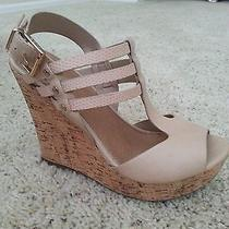 Womens Aldo Wedge Sandal/heel  Sz 7 Photo