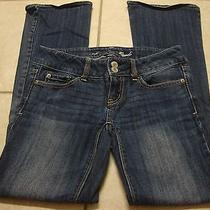 Womens American Eagle Artist Jeans 0 Short Photo
