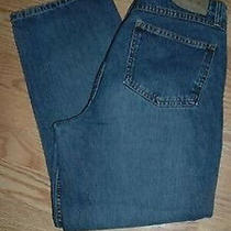 Womens American Eagle  Capri Jeans Size 8 Cute Button Photo