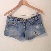 Womens American Eagle Size 6 Destroyed Shorts Photo