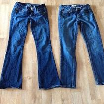 Womens American Eagle Stretch Slim Boot Cut and Aeropostale Jeans Size 00 Photo