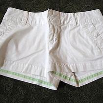 Womens American Eagle White Shorts 2 Photo