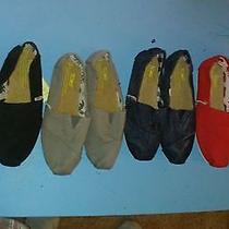 Womens and Mens Toms Shoes Photo