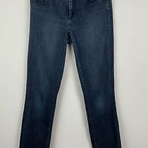 Womens Ann Taylor Modern Dark Wash Skinny Jeans Size 2 Photo