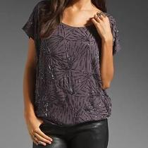 Womens Anthropologie Tolani Nina Sequin Lined Xs Embellished Top Nwt  Photo