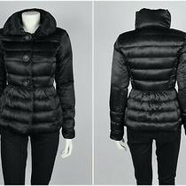 Womens Armani Exchange Puffer Down Jacket Blazer Black Size Xs Photo