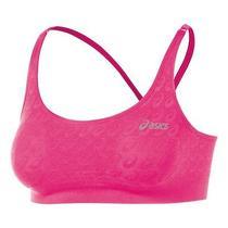Womens Asics Asx Athletic Running Seamless Sports Bra Top Photo